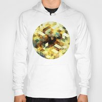 oil Hoodies featuring Oil cubes by Tony Vazquez