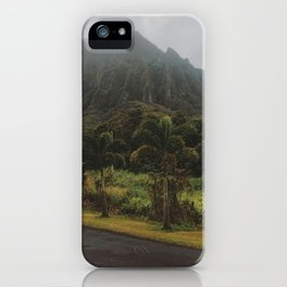 Rustic Mountains iPhone Case