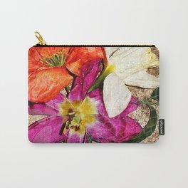 Fleurs vintages Carry-All Pouch