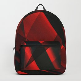 Red Abstractum Backpack