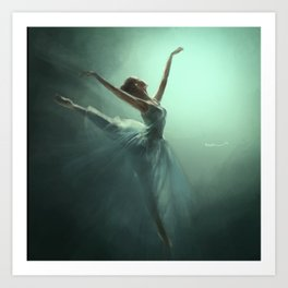 Dancing in the Light Art Print