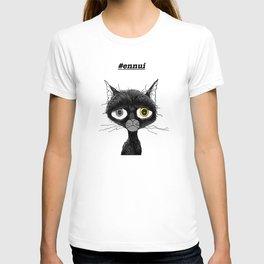Ennui Black Cat T-shirt
