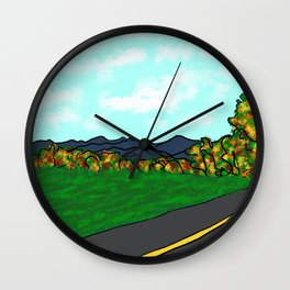 Under the Ridgeline, fall Wall Clock