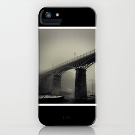 Bridge in the Mist iPhone Case