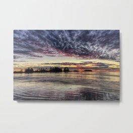 Chesterman Beach Sunset Metal Print