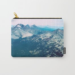 Three Sisters and Broken Top, Oregon Carry-All Pouch