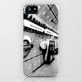 Going Underground Art iPhone Case