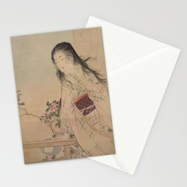Iyo Blind by Mizuno Toshikata, 1906 Stationery Cards