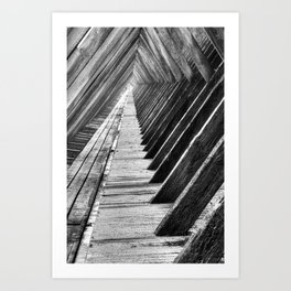 Graduation tower Art Print