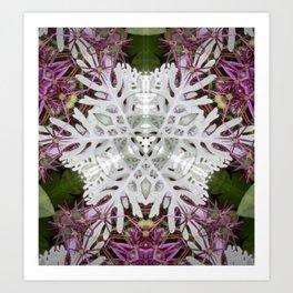 Summer Snowflake Art Print