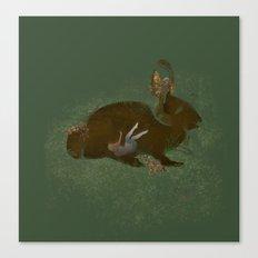 Burrow Canvas Print