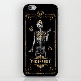 The Empress III Tarot Card iPhone Skin