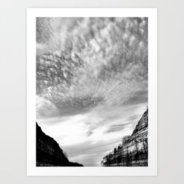 Canyon Sky Art Print