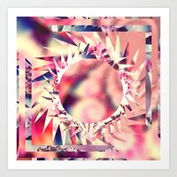 trippy Art Prints featuring Trippy  by Pink Berry Patterns