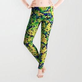 Multicolor mosaic pattern Leggings