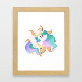 Chibi Princess Celestia Framed Art Print