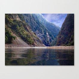 Manas River - Bhutan Canvas Print