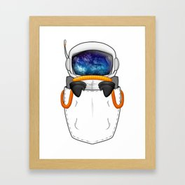 POCKET SPACEBOY Framed Art Print