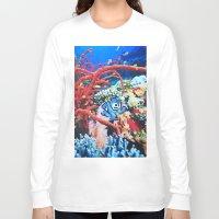 megaman Long Sleeve T-shirts featuring Megaman by John Turck