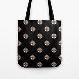 Simulated illuminated diamond pattern Tote Bag