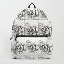 Rats Feeding on Milk Backpack