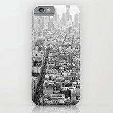 New York Grey Scale Slim Case iPhone 6s