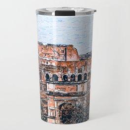 Colosseum, Rome Travel Mug