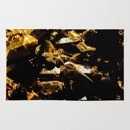 Black and Gold Tourmaline Rug