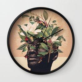 Birds are my Real Origin Reversed Wall Clock