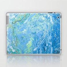 Mary's wave. Laptop & iPad Skin