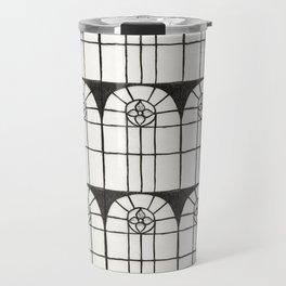 Window Pattern Travel Mug
