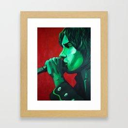 Julian Acrylic Framed Art Print