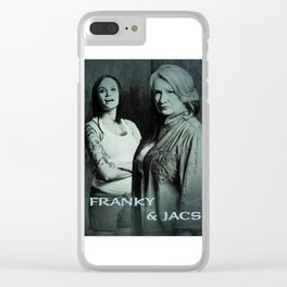 FRANKY vs JACS Clear iPhone Case