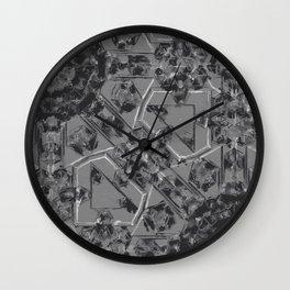 Scribble Mechanic Wall Clock