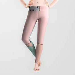 that's so 80's - Holly's home Leggings