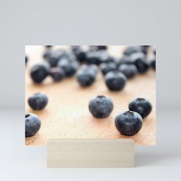 Blueberries Mini Art Print