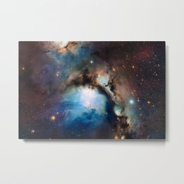 Reflection Nebula in Orion Metal Print