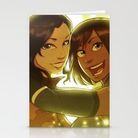 korrasami Stationery Cards featuring Korrasami by TiuanaRui