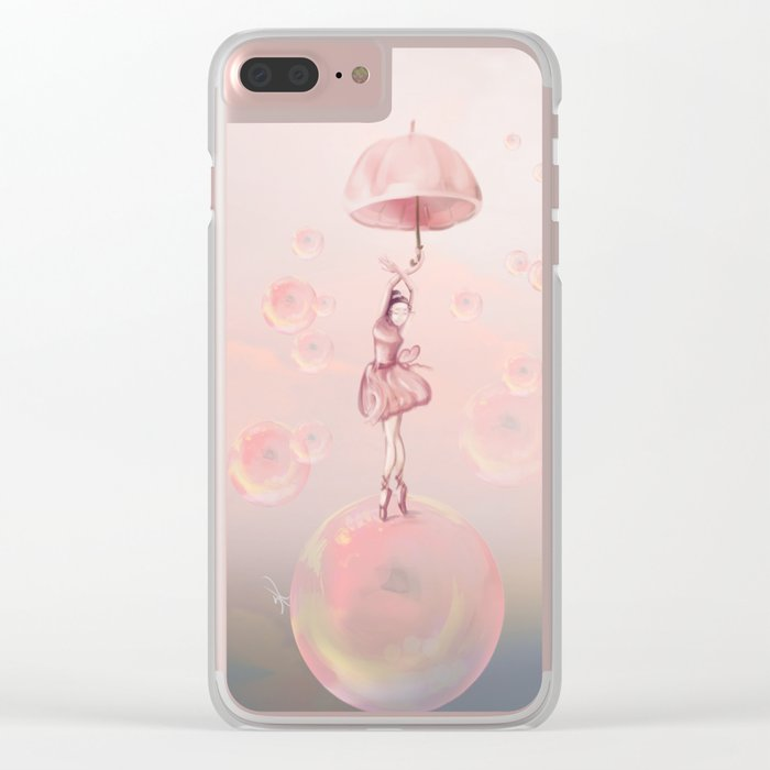 Dance in the dream Clear iPhone Case
