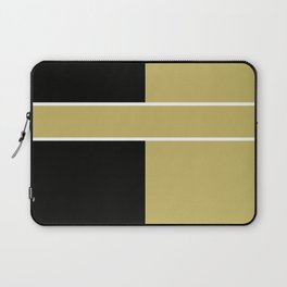 Team Color 6...black,gold Laptop Sleeve