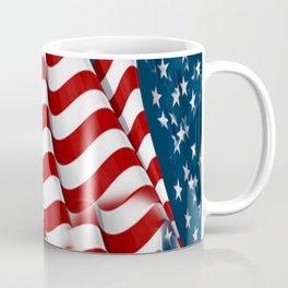 "ORIGINAL  AMERICANA FLAG ART ""STARS N' BARS"" PATTERNS Coffee Mug"