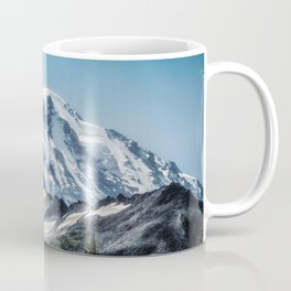 Scenic Art, Mt. Rainier, Mt. Rainier National Park, Spray Park Coffee Mug