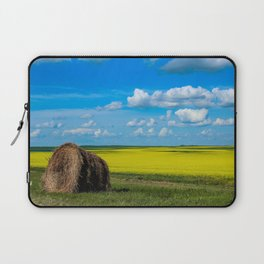 Walk through fields of gold Laptop Sleeve