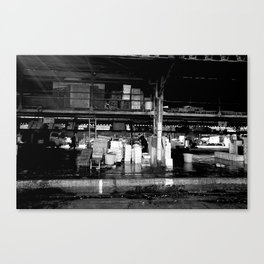 Tsukiji IV Canvas Print