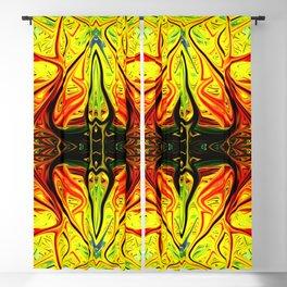 Arachnid Alien Firegrass by Chris Sparks Blackout Curtain