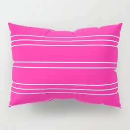 Simple Lines Pattern mag Pillow Sham