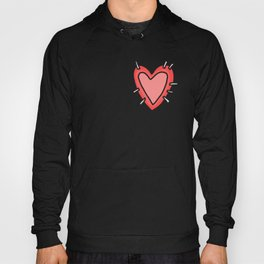 Stitched Heart Hoody