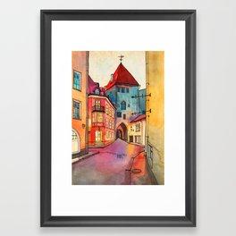 Pikk 2, Tallinn Framed Art Print
