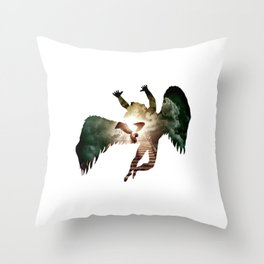 Icarus - Stairway To Heaven Throw Pillow