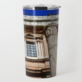 The Temple of Antonius & Faustina Travel Mug